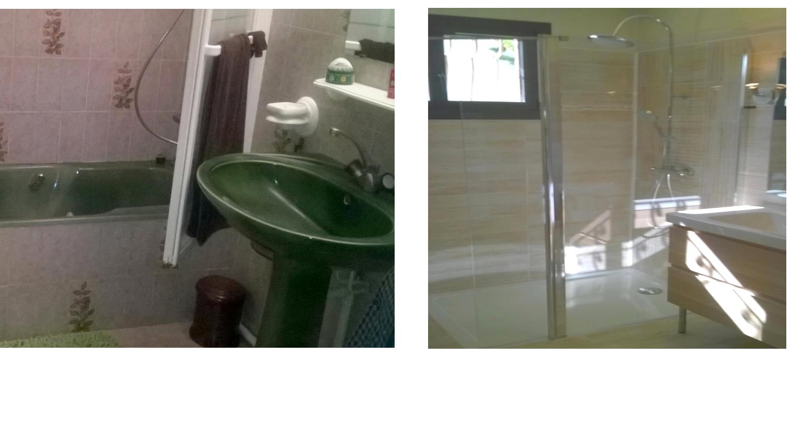 R novation salle de bain h rault gregory lopez artisan - Renovation salle de bain deductible des impots 2017 ...