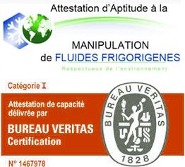 certification installateur climatisation